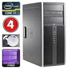 HP 8100 Elite MT i7-860 4GB 1TB NVS450 DVD WIN10Pro