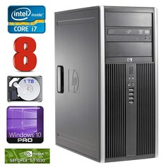 HP 8100 Elite MT i7-860 8GB 1TB GT1030 2GB DVD WIN10Pro cena un informācija | HP 8100 Elite MT i7-860 8GB 1TB GT1030 2GB DVD WIN10Pro | 220.lv