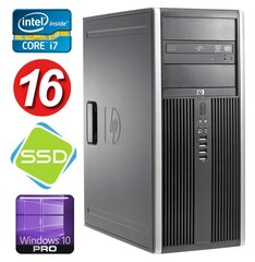 HP 8100 Elite MT i7-860 16GB 120SSD NVS450 DVD WIN10Pro cena un informācija | HP 8100 Elite MT i7-860 16GB 120SSD NVS450 DVD WIN10Pro | 220.lv