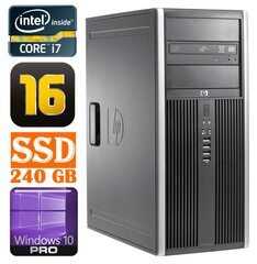 HP 8100 Elite MT i7-860 16GB 240SSD NVS450 DVD WIN10Pro cena un informācija | HP 8100 Elite MT i7-860 16GB 240SSD NVS450 DVD WIN10Pro | 220.lv