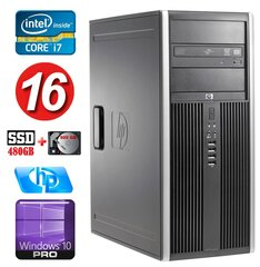 HP 8100 Elite MT i7-860 16GB 480SSD+500GB NVS450 DVD WIN10Pro cena un informācija | HP 8100 Elite MT i7-860 16GB 480SSD+500GB NVS450 DVD WIN10Pro | 220.lv