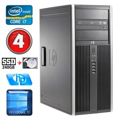 HP 8100 Elite MT i7-860 4GB 240SSD+1TB NVS450 DVD WIN10 cena un informācija | HP 8100 Elite MT i7-860 4GB 240SSD+1TB NVS450 DVD WIN10 | 220.lv