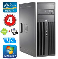 HP 8100 Elite MT i7-860 4GB 120SSD+500GB NVS450 DVD WIN7Pro cena un informācija | HP 8100 Elite MT i7-860 4GB 120SSD+500GB NVS450 DVD WIN7Pro | 220.lv