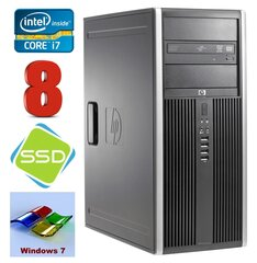 HP 8100 Elite MT i7-860 8GB 120SSD NVS450 DVD WIN7Pro cena un informācija | HP 8100 Elite MT i7-860 8GB 120SSD NVS450 DVD WIN7Pro | 220.lv