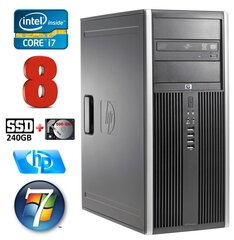 HP 8100 Elite MT i7-860 8GB 240SSD+500GB NVS450 DVD WIN7Pro cena un informācija | HP 8100 Elite MT i7-860 8GB 240SSD+500GB NVS450 DVD WIN7Pro | 220.lv