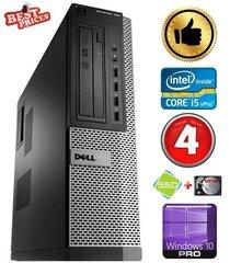 DELL 790 DT i5-2500 4GB 120SSD+500GB DVDRW WIN10Pro