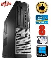DELL 790 DT i5-2500 8GB 1TB DVDRW WIN10