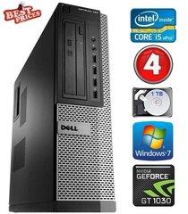 DELL 790 DT i5-2500 4GB 1TB GT1030 2GB DVDRW WIN7Pro