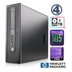 HP 600 G1 SFF i5-4570 4GB 1TB WIN10Pro