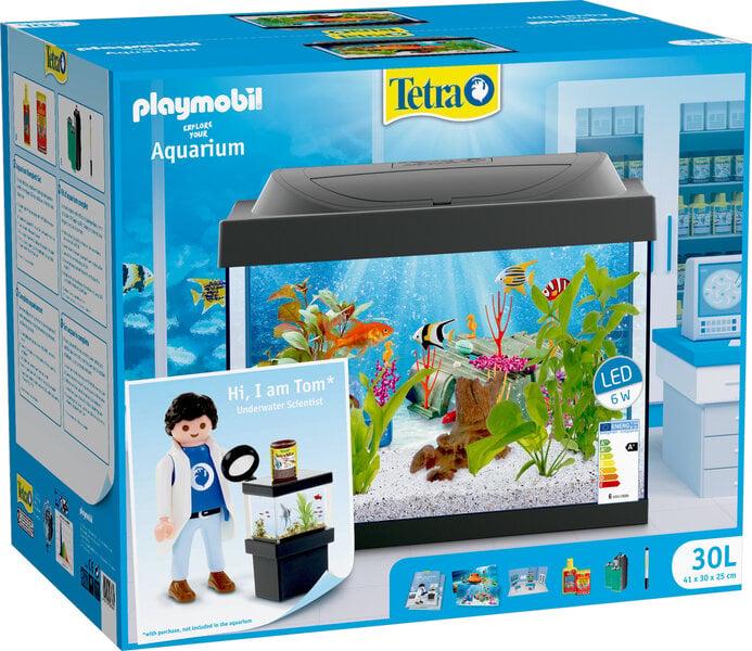 Tetra Playmobil akvārijs 30 l, ar aprīkojumu internetā