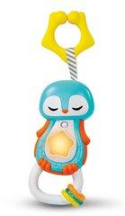 Interaktīvs grabulis Guļošais pingvīns Clementoni Baby, 17331 cena un informācija | Rotaļlietas zīdaiņiem | 220.lv