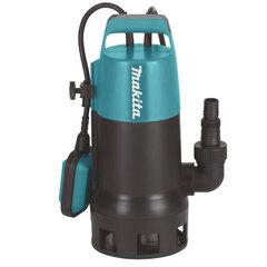 Elektriskais ūdens sūknis netīram ūdenim Makita PF1010 cena un informācija | Ūdens sūkņi netīram ūdenim | 220.lv