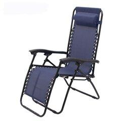 Zvilnis NORE Peggy, zils cena un informācija | Sauļošanās krēsli | 220.lv