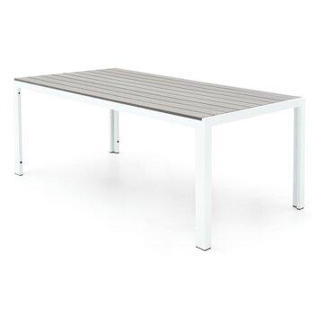 Galds 4living polywood, pelēks cena un informācija | Dārza galdi | 220.lv