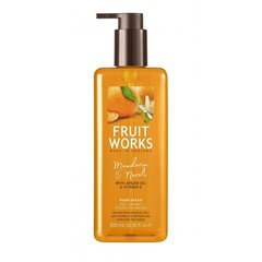 Šķidrās roku ziepes Grace Cole Fruit Works Tangerine & Neroli 500 ml