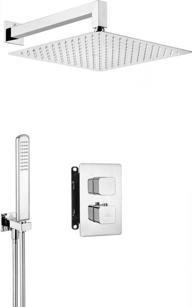 Deante zemapmetuma termostata dušas komplekts ar smart-boxu Box BXYZ0ECT, hroms