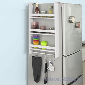 Virtuves skapītis SoBuy FRG150-W, balts cena un informācija | Virtuves skapīši | 220.lv
