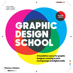 Graphic Design School : A Foundation Course for Graphic Designers Working in Print, Moving Image and цена и информация | Graphic Design School : A Foundation Course for Graphic Designers Working in Print, Moving Image and | 220.lv