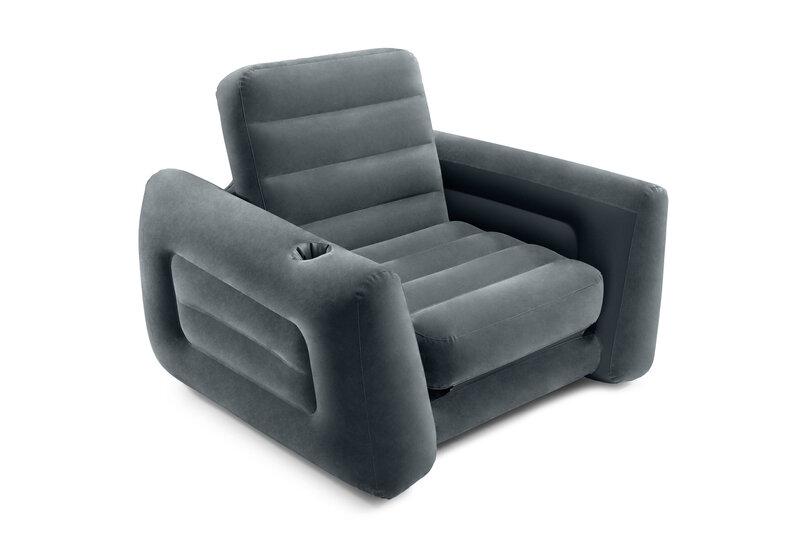 Piepūšamais krēsls Intex Pull-Out Chair