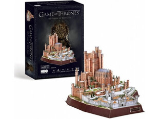 3D puzle CubicFun Game of Thrones Red Keep 314 d. cena un informācija | 3D puzle CubicFun Game of Thrones Red Keep 314 d. | 220.lv