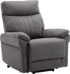 Krēsls reglaineris Dr Max by ARIMAX DM05005, pelēks cena un informācija | Krēsli viesistabai | 220.lv