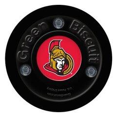 GREEN BISCUIT Ottawa Senators treniņu ripa, melna cena un informācija | Hokejs | 220.lv