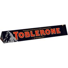 Šokolāde TOBLERONE, tumša, 100 g cena un informācija | Saldumi | 220.lv