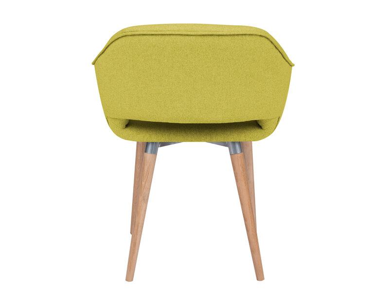 2-u krēslu komplekts Cosmopolitan Design Napoli, dzeltens atsauksme