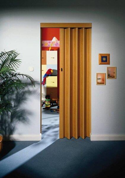 Складная дверь MARLEY RAPID, имитация дерева
