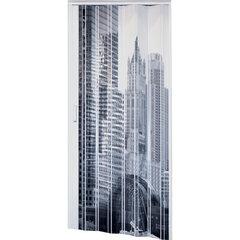 Saliekamās durvis MARLEY BLACK & WHITE baltas cena un informācija | Iekšdurvis | 220.lv