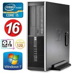 HP 8100 Elite SFF i5-750 16GB 120SSD+2TB NVS295 DVD WIN7Pro cena un informācija | HP 8100 Elite SFF i5-750 16GB 120SSD+2TB NVS295 DVD WIN7Pro | 220.lv