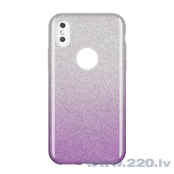Wozinsky Glitter Case Shining Cover for Samsung Galaxy S10e purple (Violet)
