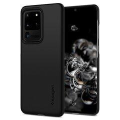 Spigen Thin Fit Galaxy S20 Ultra Black cena un informācija | Maciņi, somiņas | 220.lv