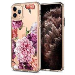 Spigen Ciel iPhone 11 Pro Max Rose Floral цена и информация | Чехлы для телефонов | 220.lv