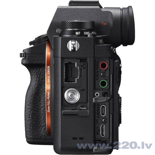 Sony A9 Body, (ILCE-9/B) | (α9) | (Alpha 9). Melna
