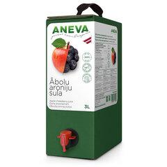 Ābolu aroniju sula dabīga, 3 L, Aneva J cena un informācija | Dzērieni | 220.lv