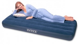 Piepūšamais matracis Intex Jr.Twin classic downy airbed
