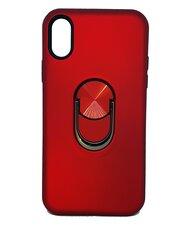Vāciņš ar gredzenu SoundBerry paredzēts Huawei P30 Pro, SARKANS cena un informācija | Maciņi, somiņas | 220.lv