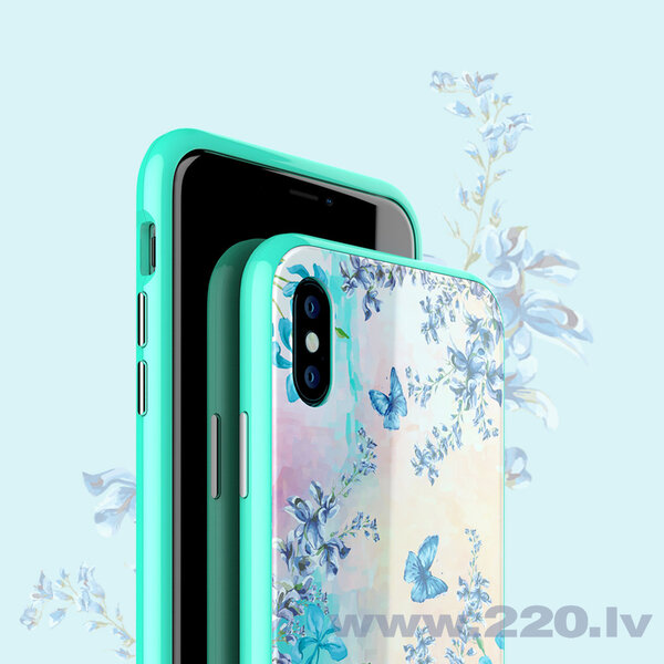 Nillkin Blossom Case Full Body Front and Back Cover for iPhone XS Max green