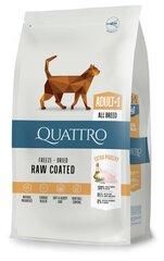 QUATTRO для взрослых кошек с большим количеством птицы, 1,5 кг цена и информация | QUATTRO для взрослых кошек с большим количеством птицы, 1,5 кг | 220.lv