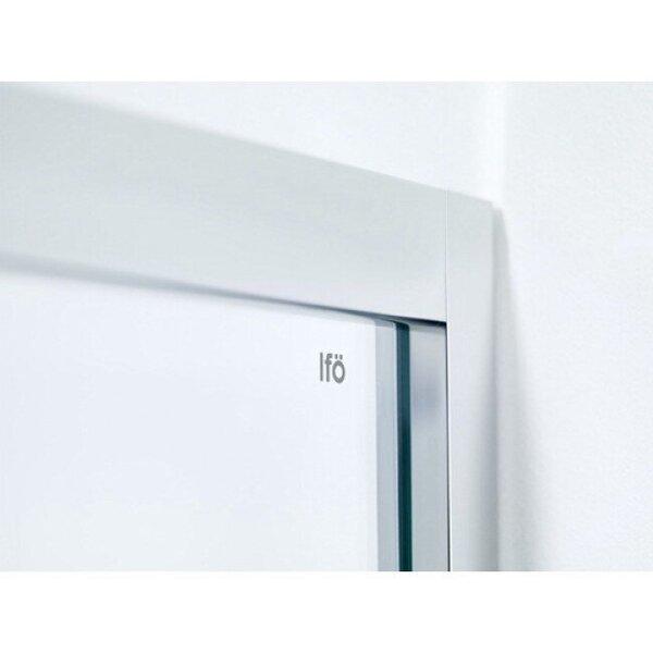 Dušas siena IFO Silver caurspīdīga 80x190 internetā