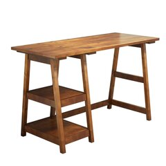 Письменный стол Kalune Design Perla, коричневый цена и информация | Компьютерные, письменные столы | 220.lv
