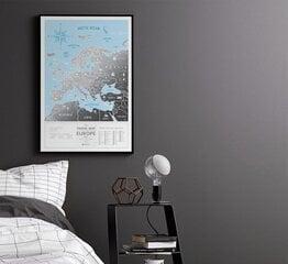 Travel Map Silver Europe cena un informācija   Pasaules kartes   220.lv