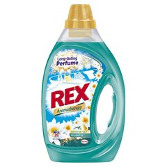 REX BALI LOTUS & LILY veļas mazgāšanas gels 20 mazgāšanas reizēm cena un informācija | Mazgāšanas līdzekļi | 220.lv