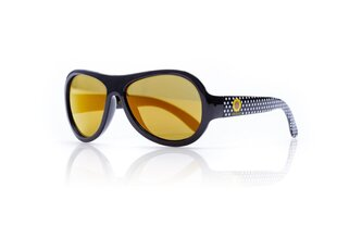 Saulesbrilles bērniem Shadez Designer Polka Sunflower Black Junior, 3-7 g. cena un informācija | Bērnu aksesuāri | 220.lv