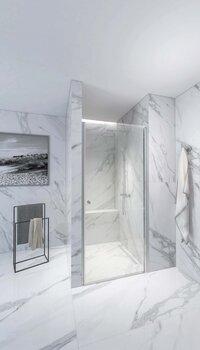 Dušas kabīne RUB-310 90 cm cena un informācija | Dušas durvis un sienas | 220.lv