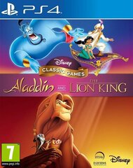 Disney Classic Games: Aladdin and The Lion King (PS4) cena un informācija | Disney Classic Games: Aladdin and The Lion King (PS4) | 220.lv