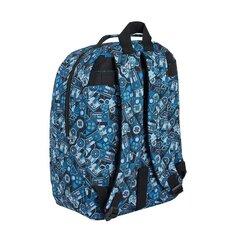 Mugursoma Gamers Blue | 40 cm cena un informācija | Skolas somas | 220.lv