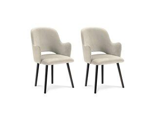 2-u krēslu komplekts Milo Casa Laelia, smilškrāsas cena un informācija | Virtuves un ēdamistabas krēsli | 220.lv
