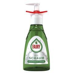 Trauku mazgāšanas līdzeklis FAIRY FOAM, 350ml cena un informācija | Trauku mazgāšanas līdzeklis FAIRY FOAM, 350ml | 220.lv